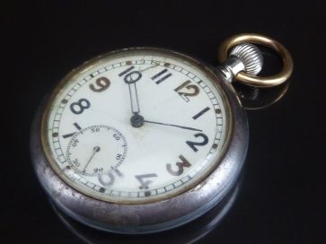 G.S.T.P. MILITARY POCKET WATCH